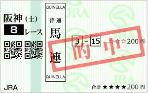 12.21阪神8R馬連